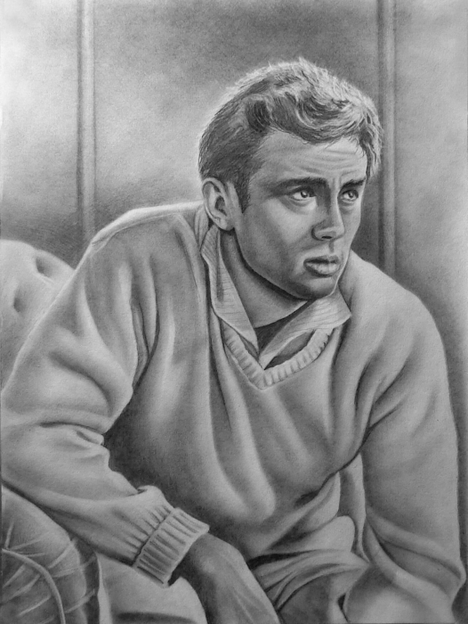 James Dean by whitelily